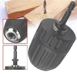 1 Pcs Drill Chuck(included Hex Shank) Suitable For Power More Impact Drill 1050w B5A2