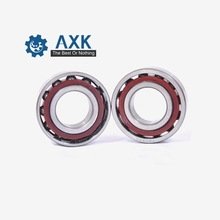 AXK 706 706C 706C/P5  (1PCS)  6X17X6 Angular Contact Bearings Spindle Bearings CNC ABEC-5 15 Contact Angle 2018 sale hot sale thrust bearing axk 7007 7007c 2rz p4 dta 35x62x14 2 sealed angular contact bearings speed spindle cnc abec 7