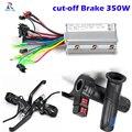 Скручивание дроссельной заслонки электрического велосипеда, E-велосипедный контроллер 24V 36V 48V 250W 350W Blcd контроллер для велосипеда, отрезающи...
