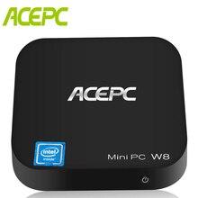 Win10 W8 Pro Intel Z8350 14nm 4cores Computer Mini Desktop Intel HD Graphics 2GB/32GB 4GB/64GB BT 4.0 Mini PC teclast tbook11 10 6 win10 android5 1 4gb 64gb 2in1 tablet black