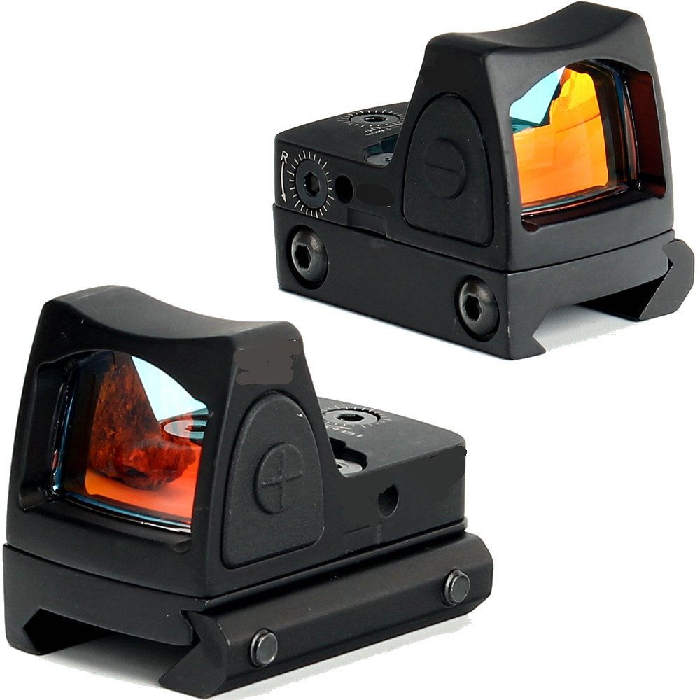 Hunting Arms Gun RMR Red Dot Sight Adjustable Airsoft Shotguns Holographic Reddot Sights With Mini-mirror &1913 Glock Mount