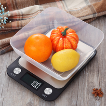 Kitchen-Scale Weigh Digital Stainless-Steel 1g High-Accurate 5kg/10kg