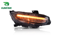 KUNFINE Car Styling Car Headlight Assembly For Honda Civic LED Head Lamp Car Tuning Light Parts Plug And Play