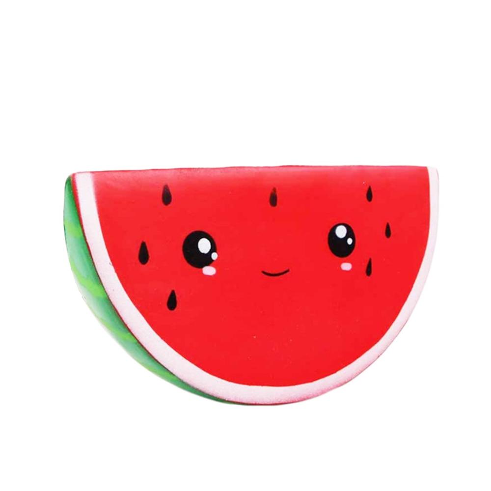 Fidget-Toys Watermelon Anti-Stress Squishy Kids Simple Dimpl Gift Slow-Rebound PU Smiley img4
