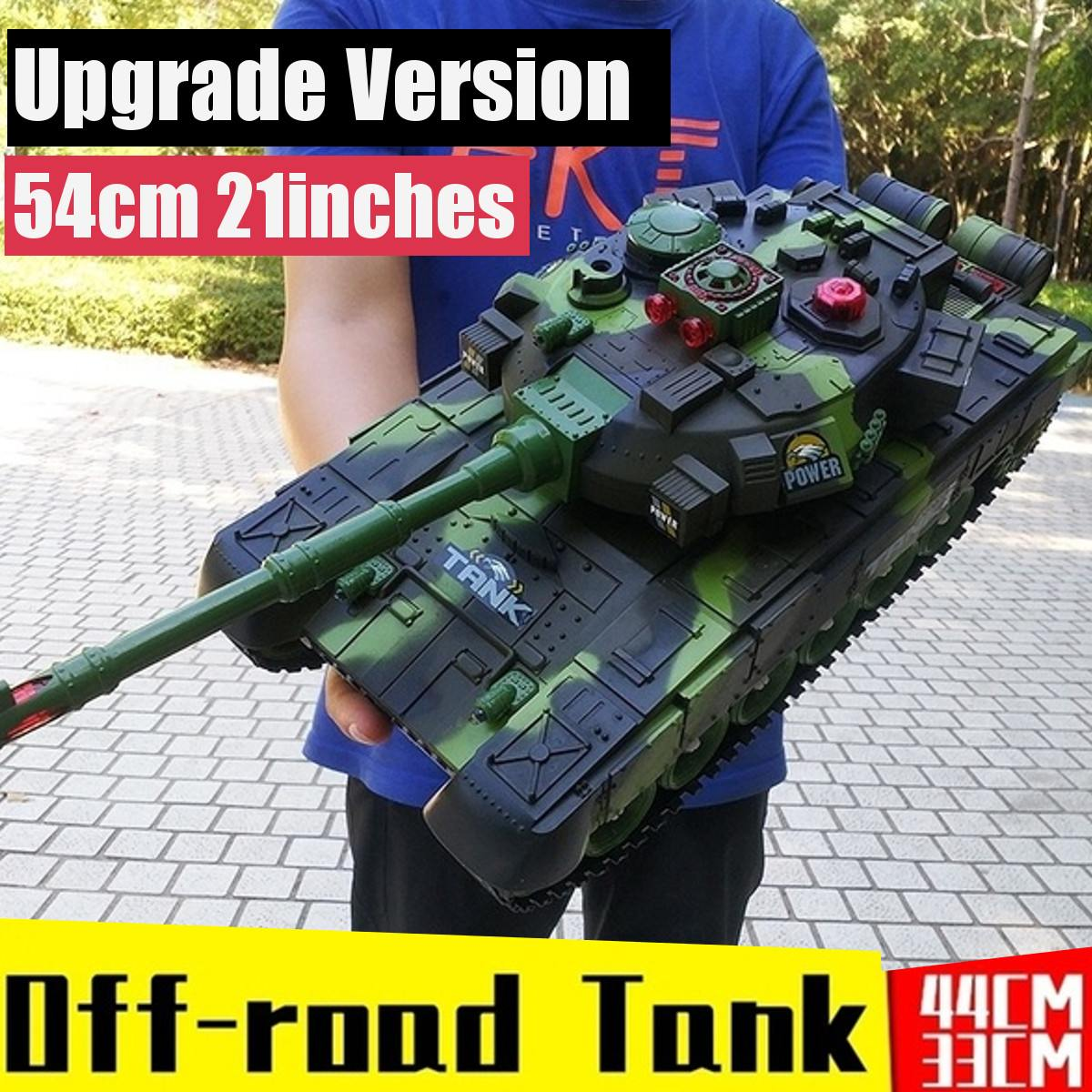 54/44/33CM Super RC tank RC Cars and Trucks charger battle launch Remote Control vehicle Hobby boy toys for kids children gifts
