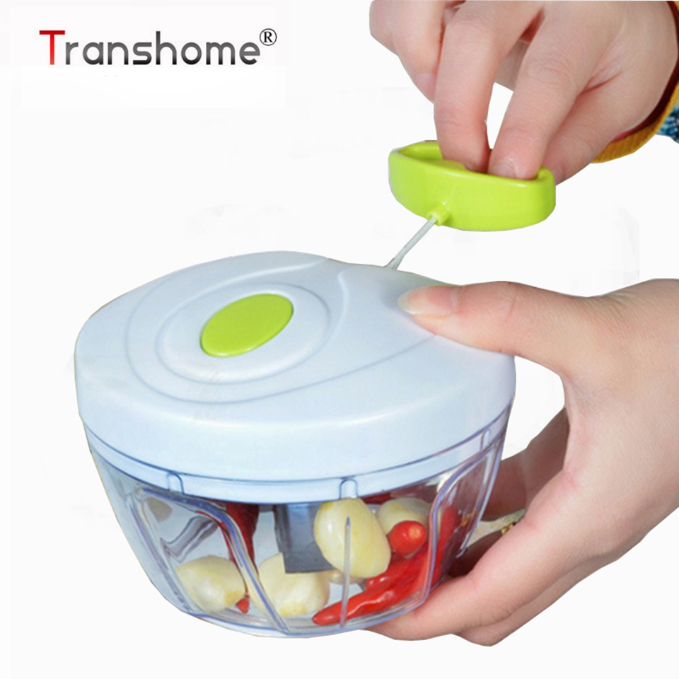 New Type Garlic Chopper Hand Speedy Vegetable Chopper Carrot Shredders Manual Meat Grinders Vegetable Tools Kitchen Acceessories(China)