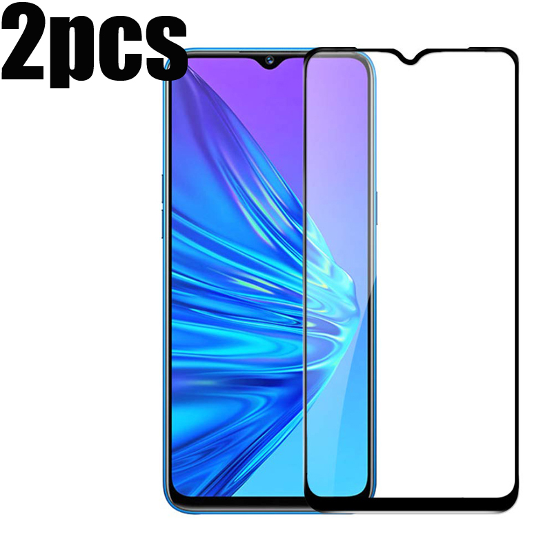 2PCS Full Tempered Glass On Realme X2 Pro Full Coverage Screen Protector Protective Film for Realme 3 Pro 5 Realme5 Pro X2 XT Q