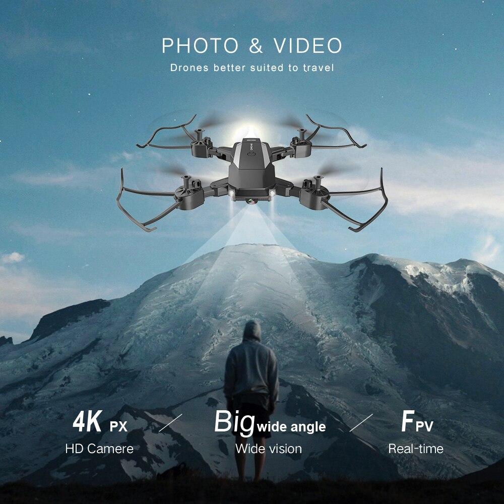 com 4k câmera hd wifi fpv helicóptero