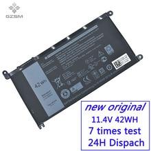 GZSM laptop battery WDXOR For Dell Inspiron 14 7000 5567 7560 battery for laptop 7472 7460-d1525s 7368 7378 5565 P61F battery цены