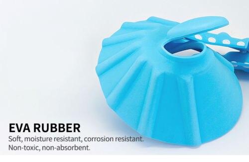 Baby Kids Children Shampoo Bath Hat Adjustable Shower Bathing Soft Cap Wash Ear Hair Waterproof Shield