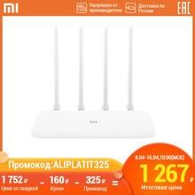 Xiaomi Mi маршрутизатор 4A роутер wi fi антенны управление приложением роутер 64MB AC1200 1167 Мбит/с для дома MOLNIA