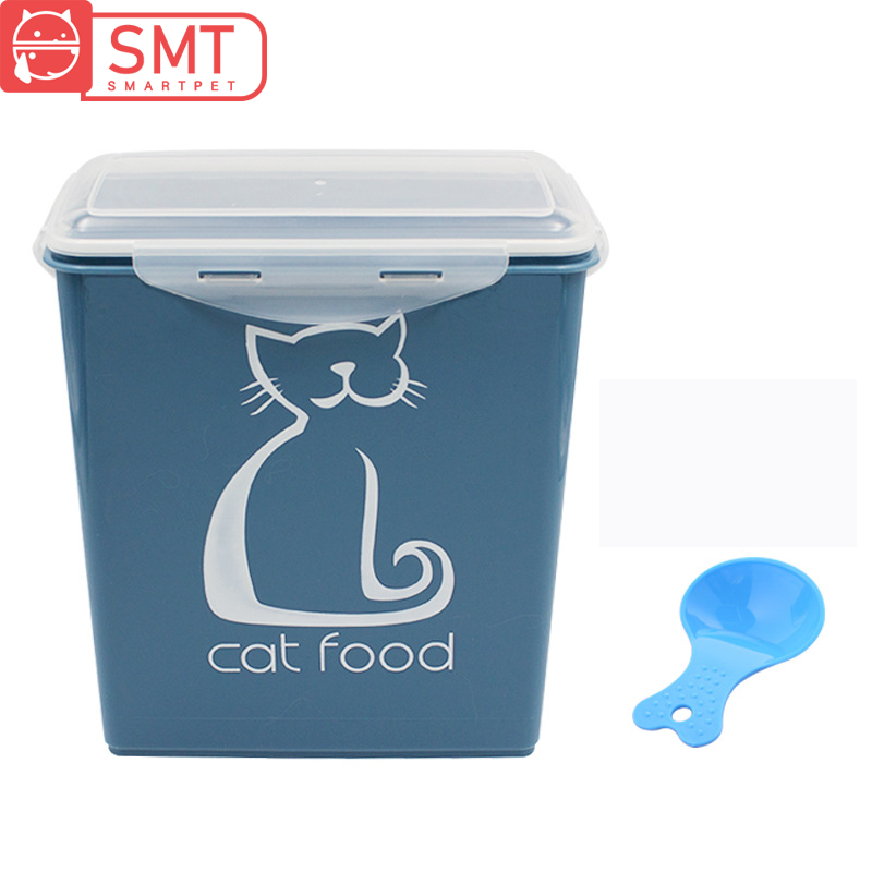 Smartpet 5.8L Airtight Dog Cat Food Storage Container Large Capacity Pet Food Sealed Barrel Moistureproof Fresh Food Box