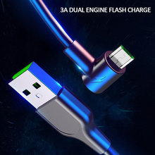 1/2m Baseus USB Cable Fast Charging for Xiaomi Redmi Note 5 Pro Android Mobile Phone Data Cable for Samsung S7 Micro Charger(China)