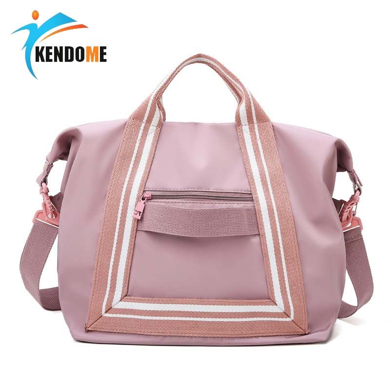 Fitness Travel Bag Women Pink Handbag Men's Sport Training Bags Dry And Wet Travel Bag Large Light Luggage Fitness Bag 2020