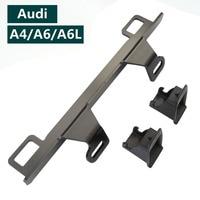 For Audi A4 A6 Car Child Safety Seat Latch ISOFIX Belt Connector Car Seat Belt Interfaces Guide Bracket Seat Belt Bracket Latch
