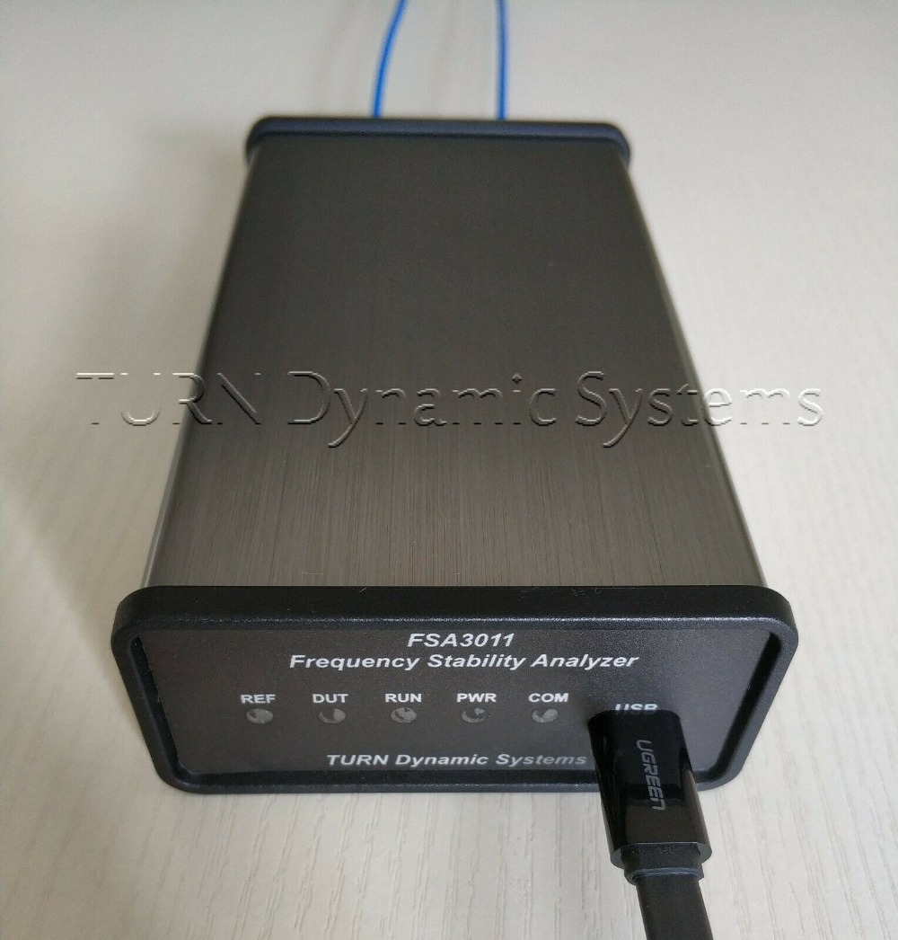 Free Shipping Latest Version  FSA3011 OCXO GPSDO Atom Clock Frequency Stability Analyzer