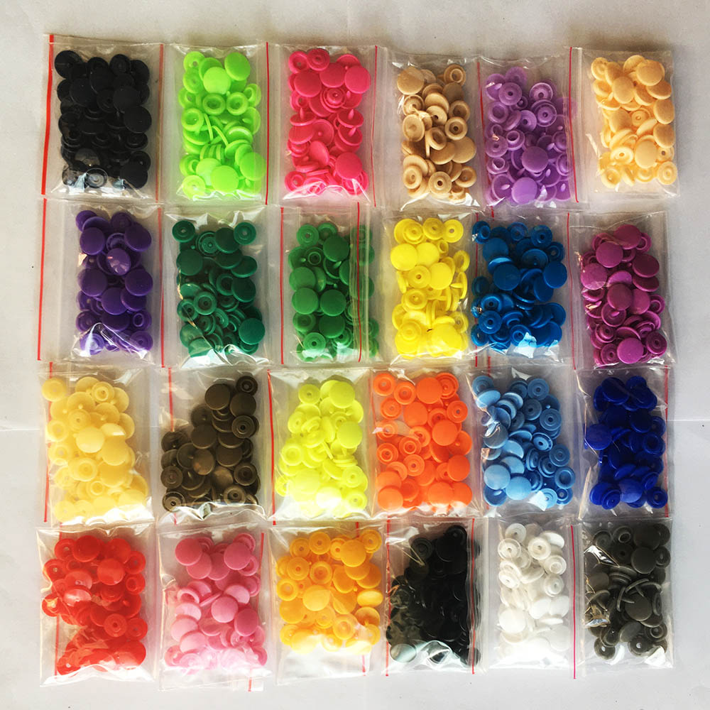 100% True 20/50/100/150sets Plastic Snaps Button Fasteners Kam T5 Bag Folder Dark Buckle Button Resin Garment Accessories For Baby Clothes Less Expensive