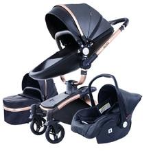 Wózek dziecięcy 3 w 1 na wózek spacerowy dla noworodka wózek wysokiego krajobrazu wózek dla dziecka wózek spacerowy dla dziecka 0-36 miesięcy tanie tanio Magic ZC CN (pochodzenie) 0-3 M 4-6 M 7-9 M 10-12 M 13-18 M 19-24 M 2-3Y 4-6y Baby stroller 90 kg 0-6 years