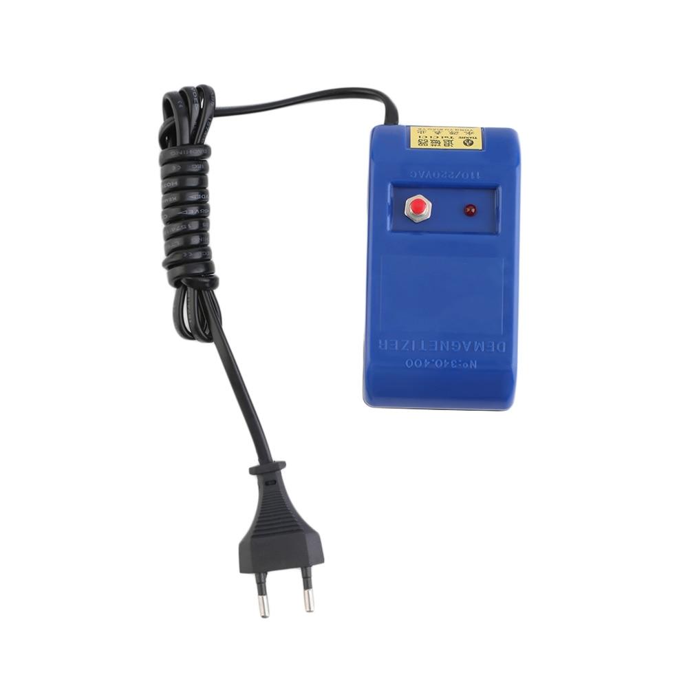EU Plug Type Electrical Perfect Watch Repair Screwdriver Tweezers Demagnetise Demagnetizer Tools New Watch Repair Tool 2020
