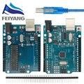 UNO R3 Entwicklung Bord ATmega328P CH340 CH340G Für Arduino UNO R3 Mit Gerade Pin Header mit Kabel