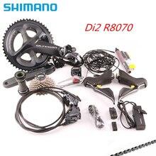 SHIMANO ULTEGRA ensemble de vitesses pour bicyclette de route, ST + FD + RD R8050, dérailleur avant et arrière, R8070 Di2, manette de vitesse R8050