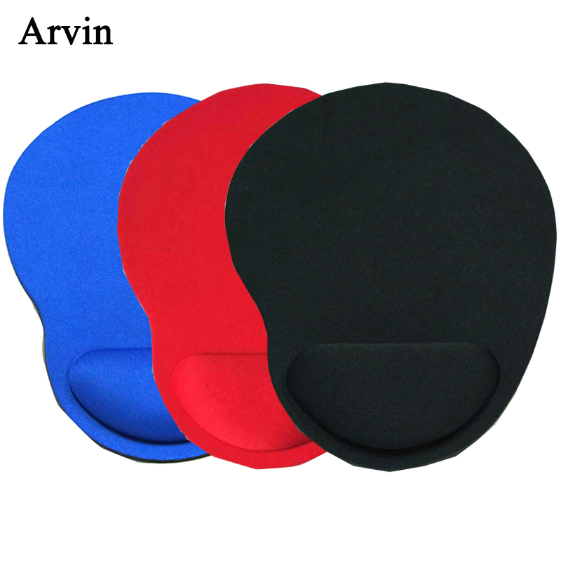 Mouse Pad With Wrist Rest Protect Comfortable Gaming Mice Mat 5 Colors