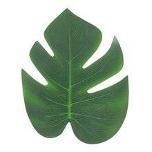 12Pcs/Set Simulation Turtle Back Leaf Silk Cloth Tape False Artificial Plant garden Decoration Craft Festive Party Supplies