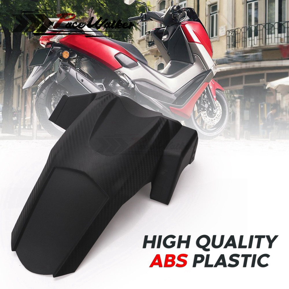 Modified Imitation Carbon Parts Motorcycle Rear Fender Mudguard Hugger Splash Guard For YAMAHA NMAX 155 16-18