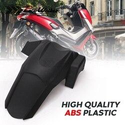 Modifiye taklit karbon parçaları motosiklet arka çamurluk çamurluk Hugger için Splash Guard YAMAHA NMAX 155 16-18