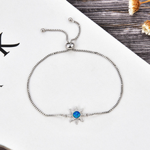 KAMAF 1PCS/ Marine biological starfish four color opal accessories woman charm wedding jewelry as valentines day party