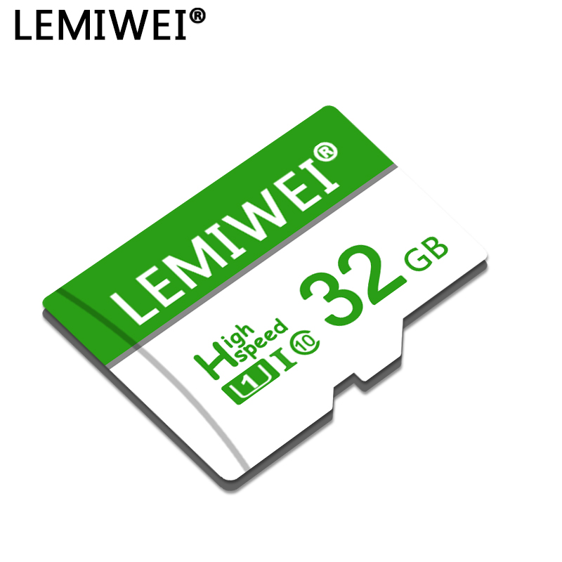 LEMIWEI Memory Card 8GB 16GB 32GB 64GB Micro SD Card Class10 UHS-1 Flash Memory Cards TF / Micro SD Cards For Phone Computer