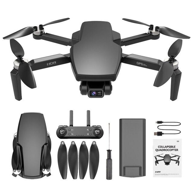 Novo 2021 l108 zangão gps com câmera hd 4k profissional 2000m transmissão de imagem brushless motor rc quadcopter dobrável presente do miúdo 6