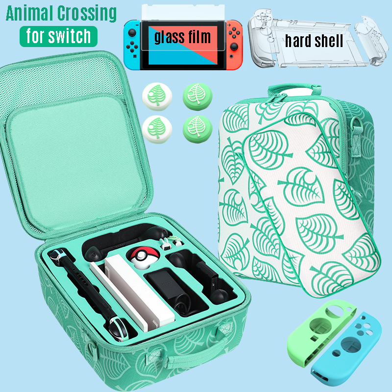 Storage Bag for Nintendo Switch Animal Crossing Carrying Case for Nitendo Switch Accessories Portable Pouch