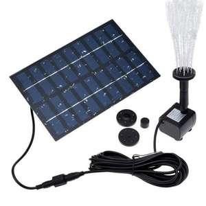 Fountain-Pump Air-Humidifier Solar for Garden And Patio Bath