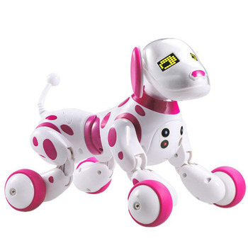 RC Robot Dog Birthday Gift Cute Animals Sing Dance Remote Control Interactive Electronic Pet Toy Children Led Smart Wireless