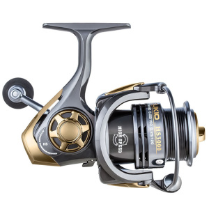 Image 3 - YUYU quality Metal Fishing reel spinning metal shallow spool 2000 3000 5000 6+1BB 7.1:1 spinning reel for carp fishing