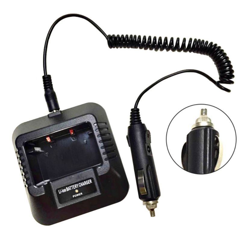 Adjustable Car Charger Cable For Baofeng Walkie Talkie UV-5R UV-5RE 5RA Portable Radio Base Walkie Talkie Accessories