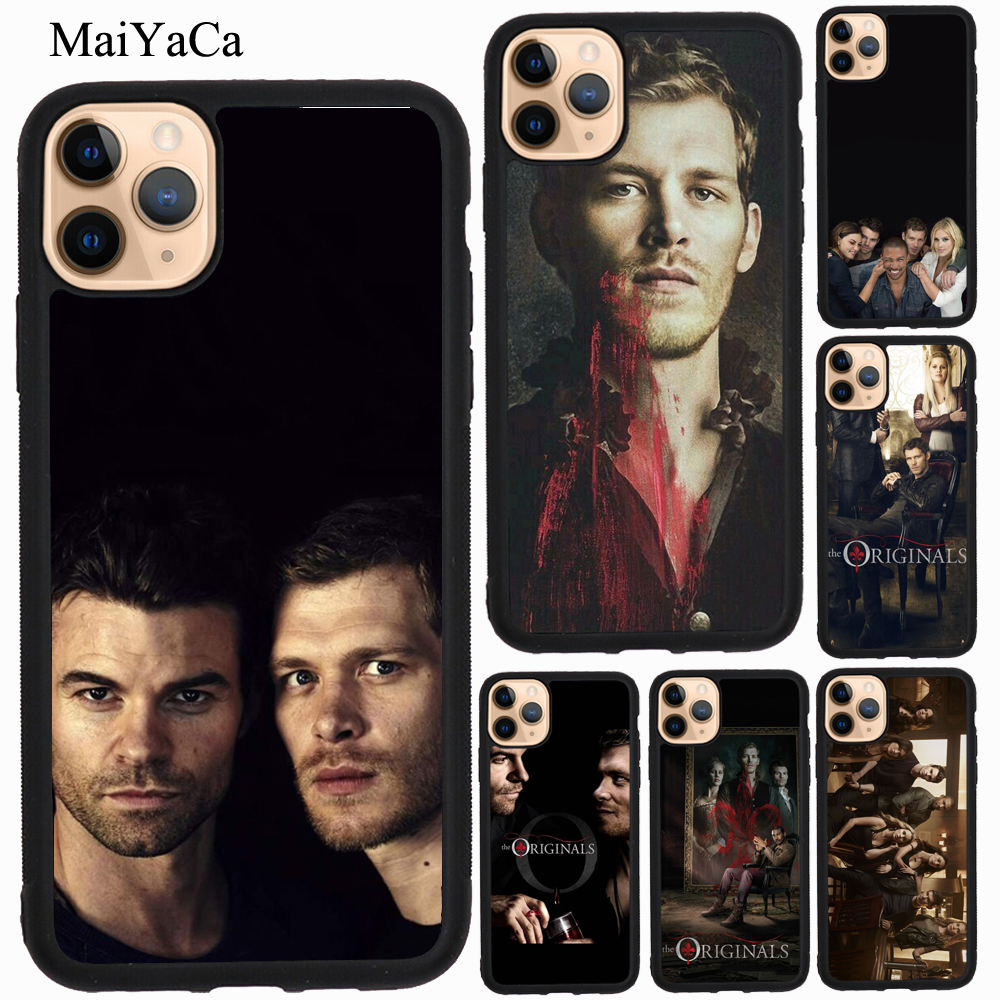 MaiYaCa The <font><b>Originals</b></font> Vampire Poster TPU <font><b>Case</b></font> For <font><b>iPhone</b></font> XR <font><b>X</b></font> <font><b>XS</b></font> Max 5S SE 2020 6S 7 8 Plus 11 Pro Max Cover Coque image