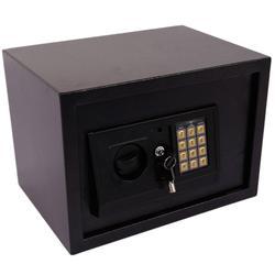 الإلكترونية الرقمية آمنة قوي مربع للمجوهرات نوبل المعادن وثائق النقدية المال الصفتي الإسكان حالة مربع مع الطوارئ مفاتيح