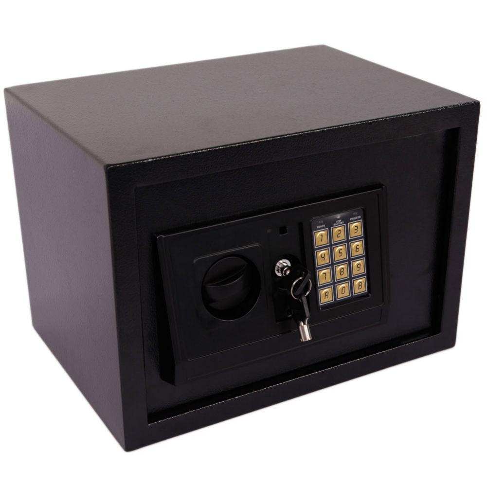 Electronic Digital Safe Strong Box For Jewelry Noble Metals Cash Documents Money Safty Housing Case Box With Emergency Keys