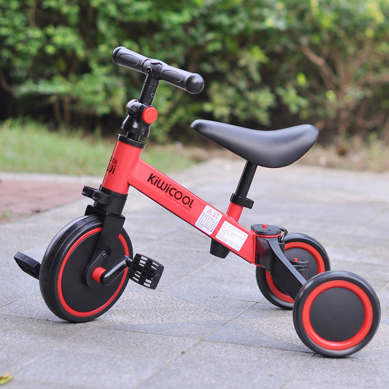 3 in 1 Kids Tricycle Balance bike Baby walker Child Push Bike Toddler Learn to Ride 3 in 1 Kids Tricycle + Balance bike + Baby walker Child Push Bike Toddler Learn to Ride Bicycle Ride On Toy Boy Girl Xmas Gift