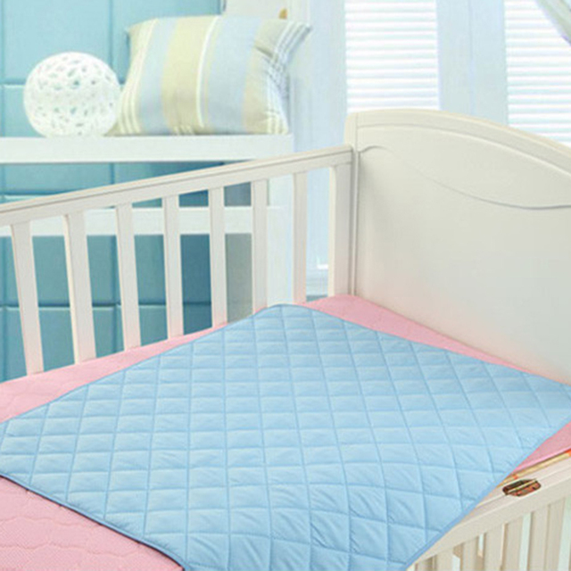 50*70cm/70*120cm Waterproof Baby Infant Diaper Nappy Urine Mat Kid Simple Bedding Changing Cover Pad Sheet Protector | Happy Baby Mama