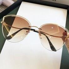 2020 новые модные розовые градиентные солнцезащитные очки кошачий