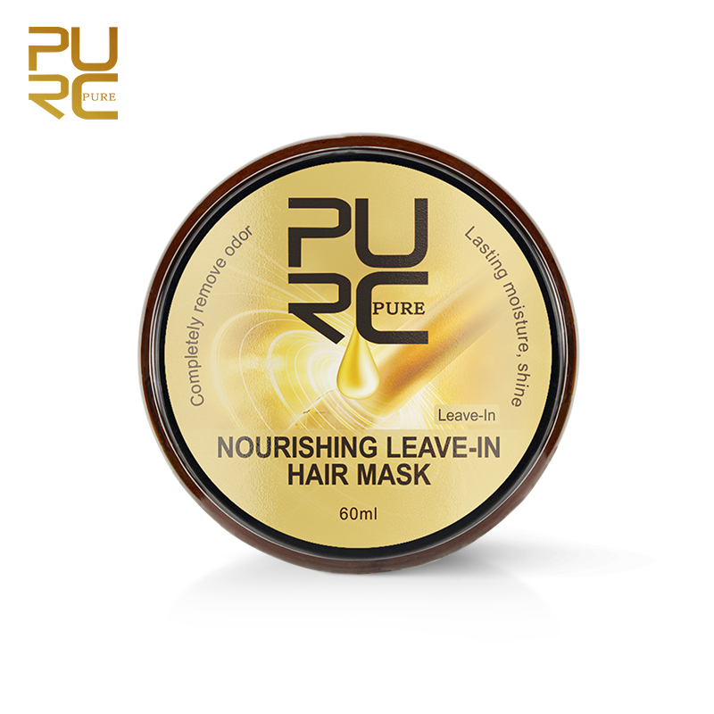 PURC Nourishing Leave-In Hair Mask Completely remove odor Lasting moisture shine Hair Treatment 11.11 5