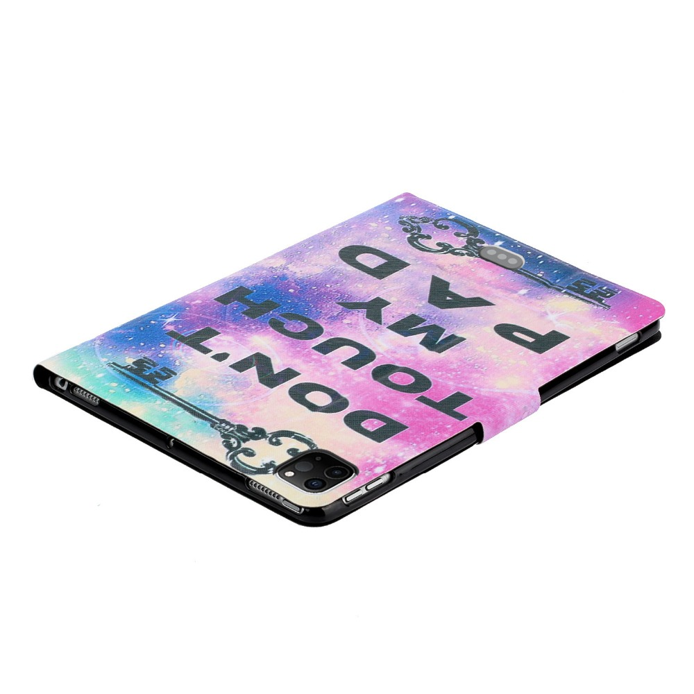 For Pro for iPad 2020 Cheap Painted inch Case PU Pro 11 iPad Case Leather Smart Folio