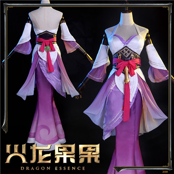 New Sale! LOL Nami Skin Cosplay Dress Halloween Christmas Costume for women Chinese style full sets customize A