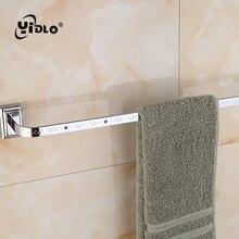 Bathroom Towel Single Pole Embedded Wall Washrag Storage Shelves Silver Holders Washroom Tools Hot Sale