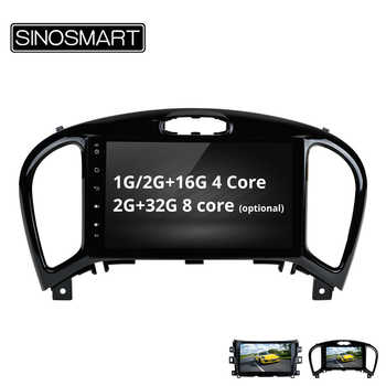 SINOSMART 4/8 Core CPU, 2G RAM 9 inch Android 8.1 Car GPS Navigation Audio for Nissan Juke support factory OEM 360 Camera/NAV - DISCOUNT ITEM  34% OFF All Category