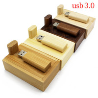 TEXT ME 5 colour Maple carbonized bamboo+box usb flash drive pendrive 4GB 8GB 16GB 32GB maple usb3.0 photography best gift|USB Flash Drives| |  -
