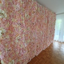 Высокое качество 40x60 см Шелковая Роза искусственная коврики с цветами свадебные украшения цветок стены романтический для свадьбы задний план украшения